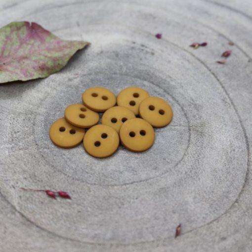 Atelier Bruntte classic-matte-buttons-ochre