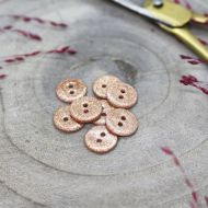 Atelier Brunette glitter-buttons-powder