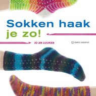 crocheted sock book Sokken Haak Je Zo - Jo An Luijken