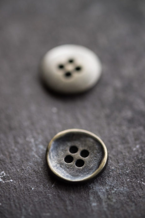 Merchant & Mills stamped buttons