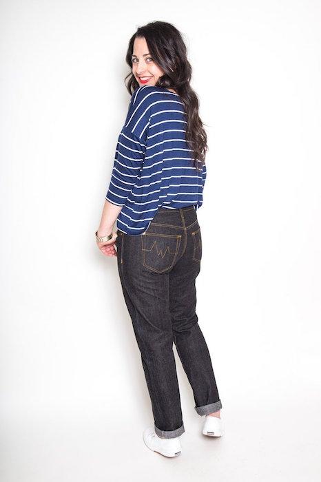 Morgan Jeans Long Back