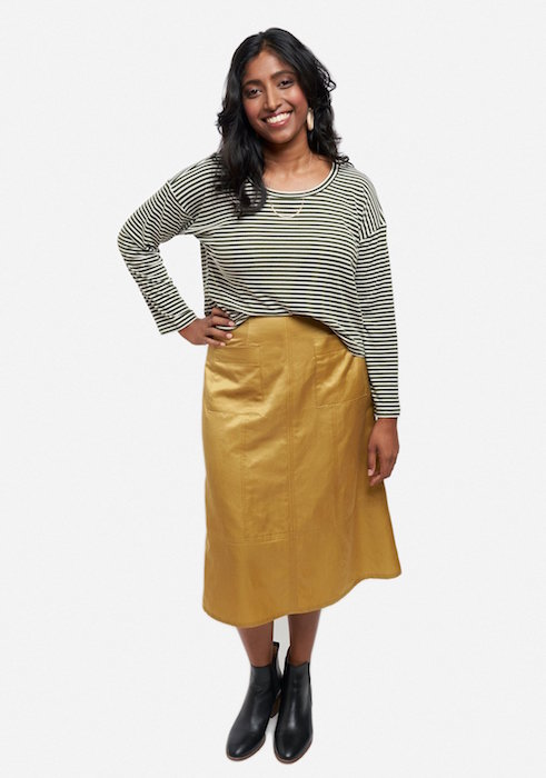 Reed Skirt View D Front