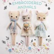 front cover of Gingermelon's Embroidered animals book