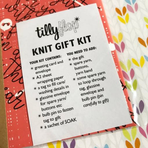 Tilly Flop Designs gift kit kraft