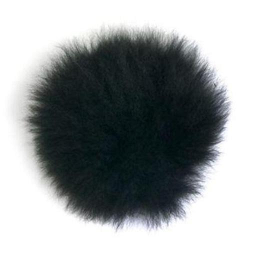 toft alpaca pompom black