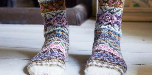 lupin socks gentle marie wallin