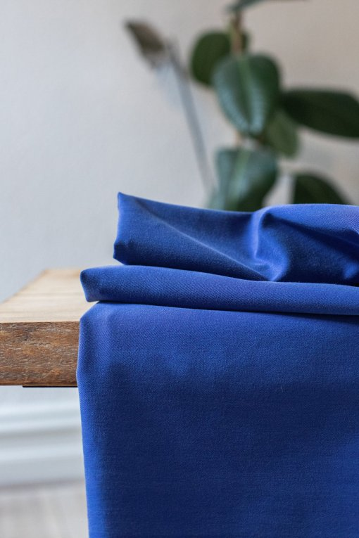 Meet Milk Soft Stretch twill - Lapis