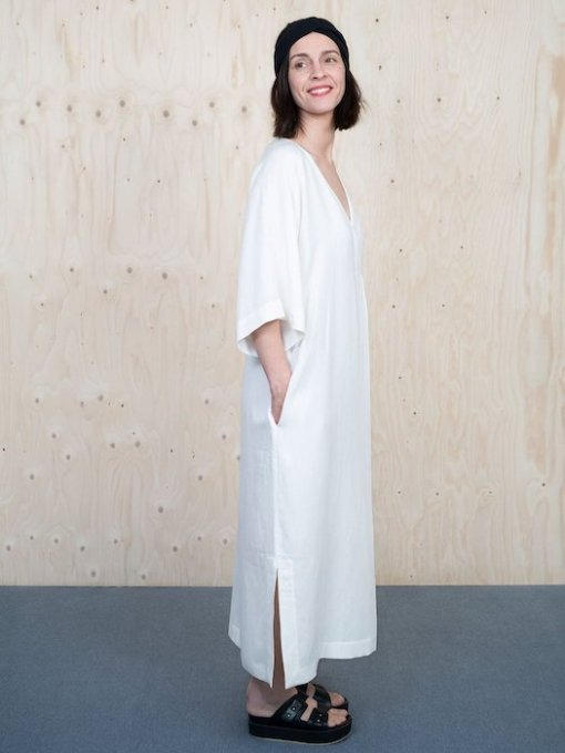 The Assembly Line - Kaftan Dress white dress