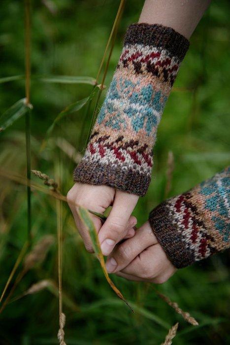 Fair Isle Weekend - Mary Jane Mucklestone wristlets