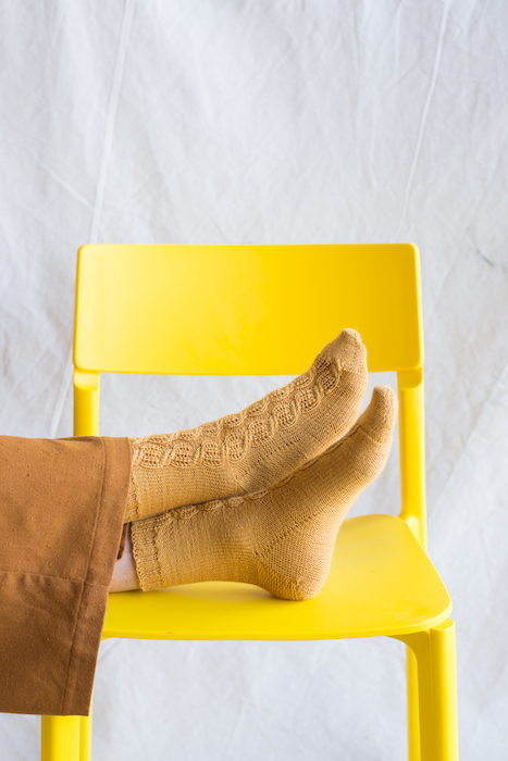 Making No 10 INTRICATE Ichor socks