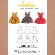 Ikatee sewing pattern Milano