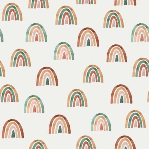 Family Fabrics - Jersey - Rainbow
