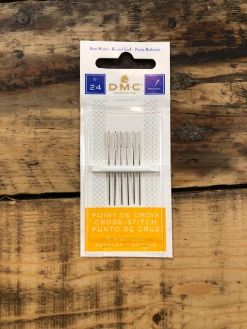 DMC Round Tip Cross Stitch Needles