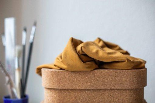 Meet Milk Basic Stretch Jersey-Mustard