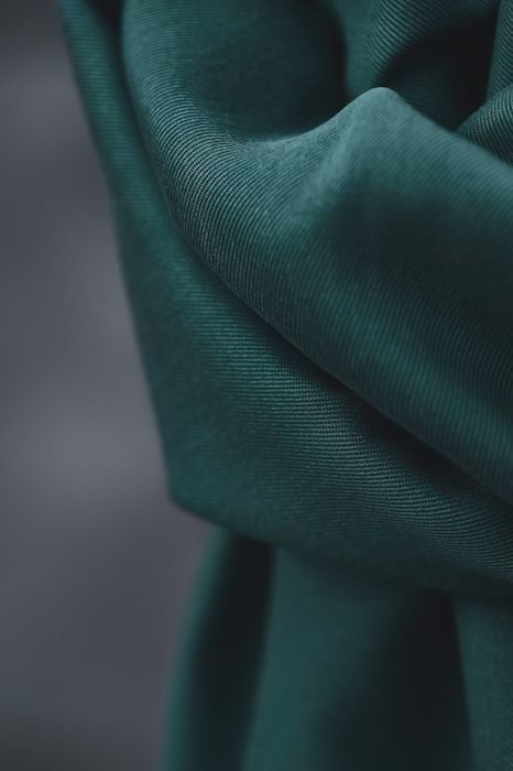 Meet Milk Smooth Drape Twill- Emerald 2
