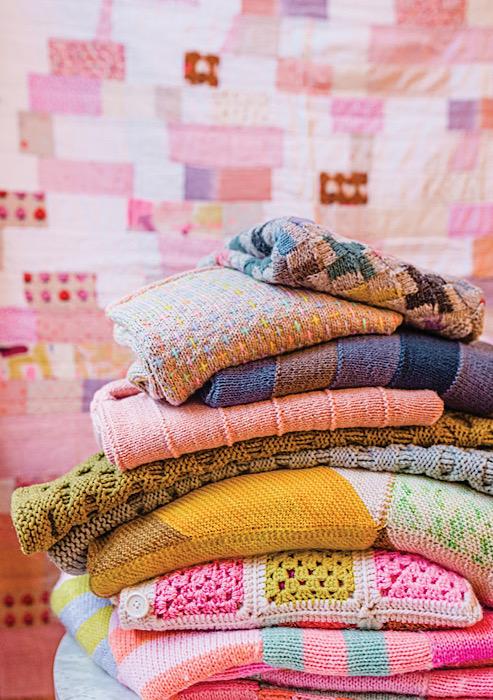 Pom Pom Quarterly Spring 2021 - Issue 36 knit pile