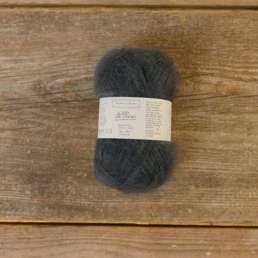 Biches & Bûches le petit Mohair dark blue