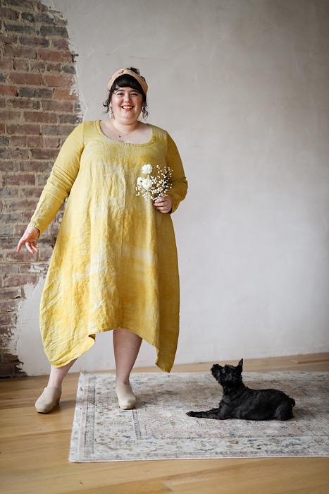 Embody - Jacqueline Cieslak by Pom Pom Press Woolfork dress