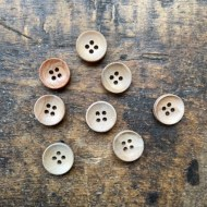 Olive wood buttons