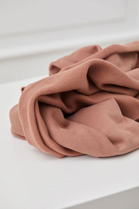 mind the MAKER organic brushed sweatshirt old rose