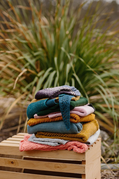 Knit pile in Pom Pom Quarterly Summer 2021 - Issue 37