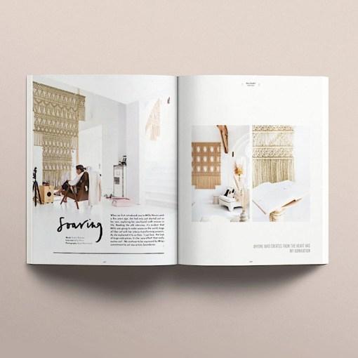 opened flatlay Koel Magazine Issue 11/2021