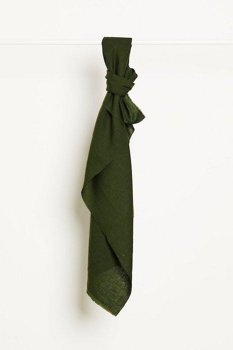 mind the MAKER nisa softened linen green khaki