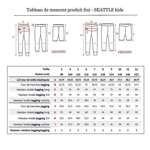 Charts Seattle Leggings/Jeggings - Ikatee Paper Sewing Pattern