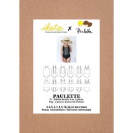Front cover Paulette Swimsuit - Ikatee Paper Sewing Pattern