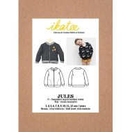 Jules Bomber Jacket/Vest - Ikatee Paper Sewing Pattern Front cover