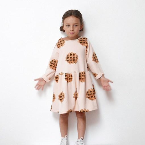 Modeling Helsinki Dress - Ikatee Paper Sewing Pattern