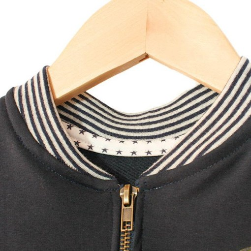 Detail sample Jules Bomber Jacket/Vest - Ikatee Paper Sewing Pattern