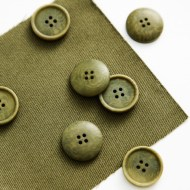 mind the MAKER corozo button Blaze 20mm olive green