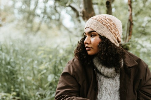 modeling hat Pom Pom Quarterly Autumn 2021 - Issue 38