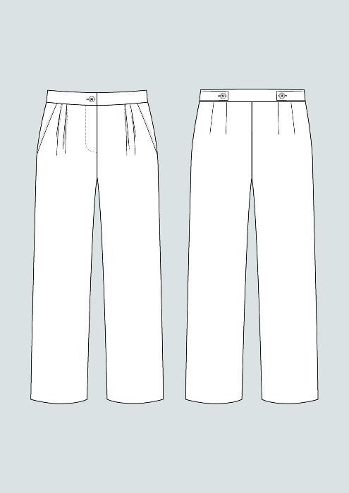 The Assembly Line High Waisted Trousers