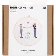 Rico Design Figuro - Girlfriend & Boyfriend