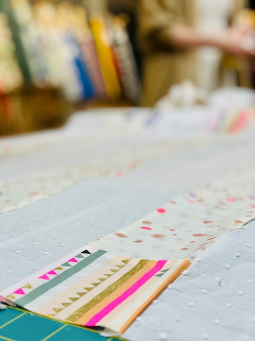 close up Workshop: Make a Mini Quilt in a Day by Cocowawa Crafts