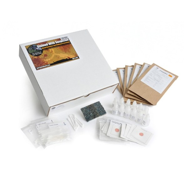 Blood Detection and Evidence Forensics Refill Kit