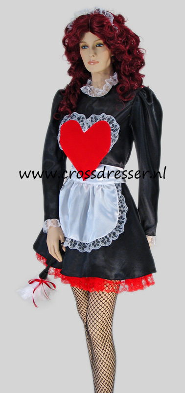Ooh La La Sexy French Maid Crossdresser Costume  Uniform  Crossdressernl