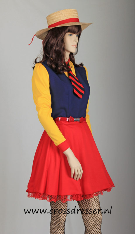 College Sweetheart  Sexy Schoolgirls Uniform by Crossdressernl
