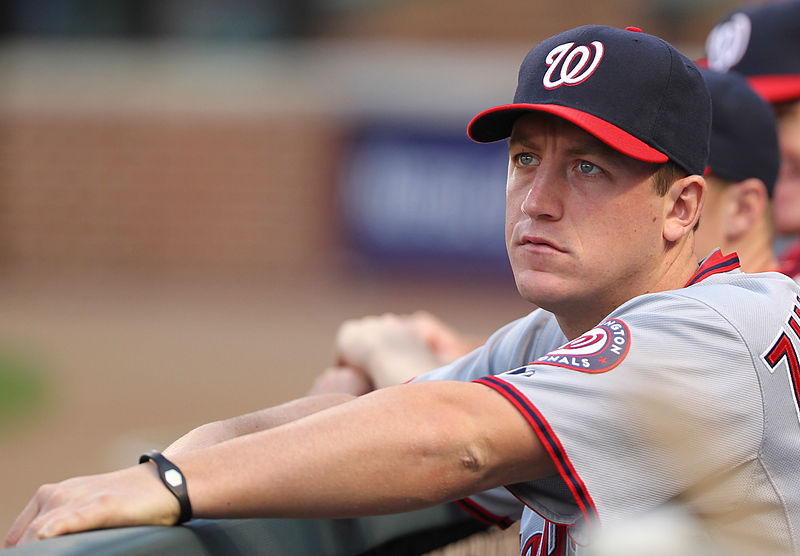 Pitcher+Jordan+Zimmermann+watches+as+the+team+plays+the+Baltimore+Orioles+earlier+this+season.