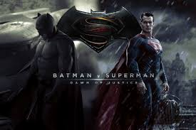 One of the many Batman v Superman promotional posters.