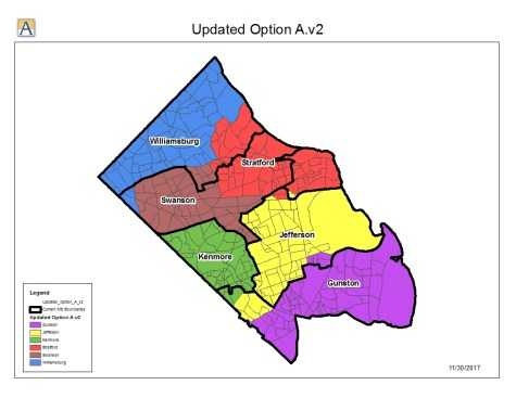 Plans for middle school boundaries disregard demographics