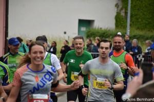 Aargau Marathon, Zieleinlauf, Michael Wälti