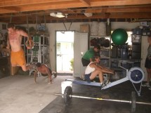 CrossFit Home Gym Ideas Garage