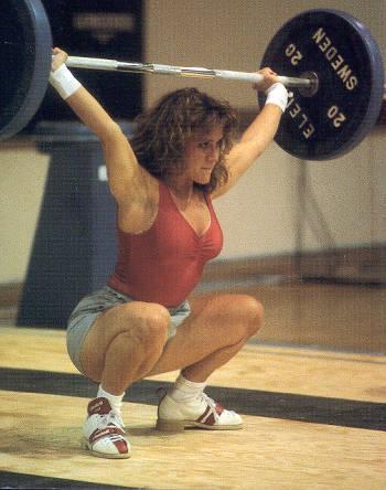 Heavy weight training....