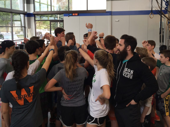 All for one and one for all! Our Teens Class is up and running and kicking butt! Mondays, Wednesdays, and Saturdays! It's on!