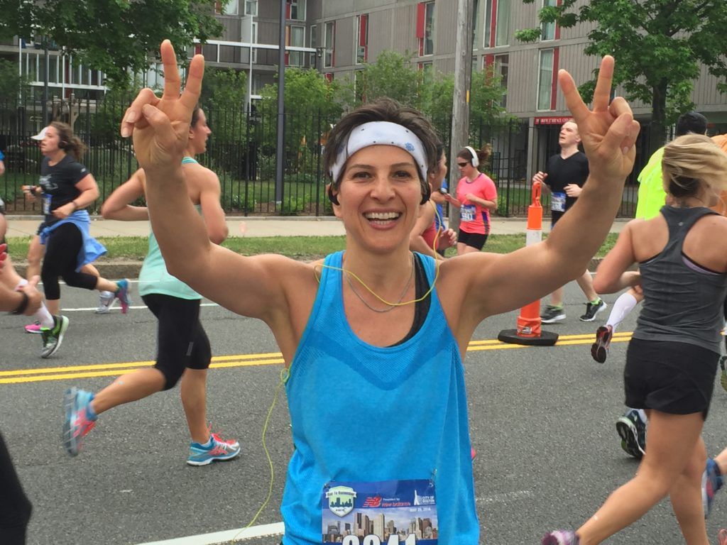 Congratulations to Shirin for crushing her half marathon this weekend!