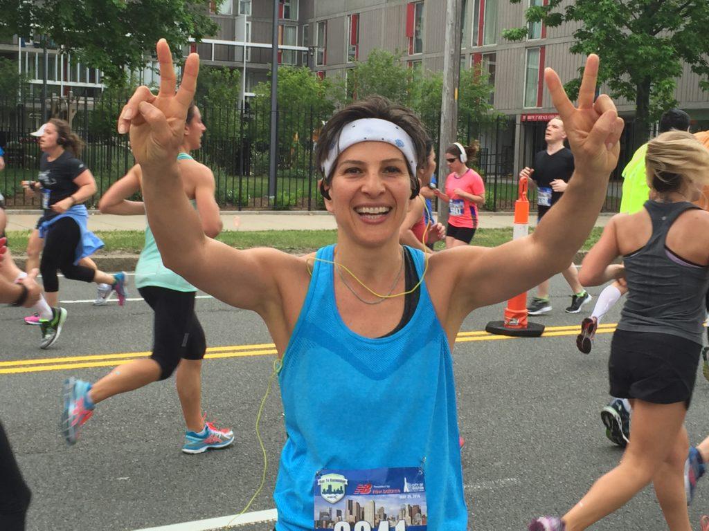 Congratulations to Shirin for crushing her half marathon this weekend!