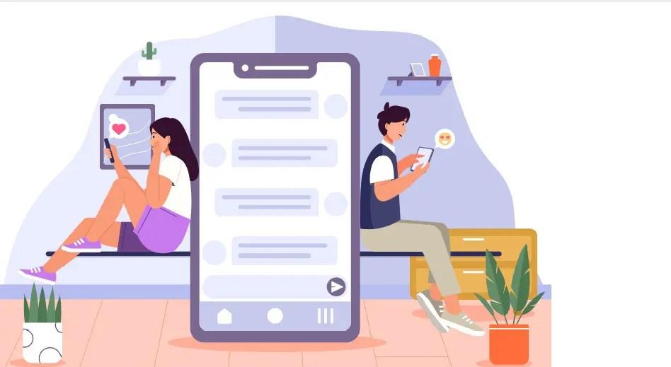Eventos online chat interativo